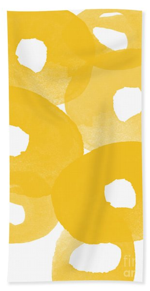Freesia Splash Beach Towel