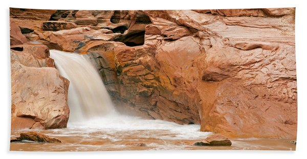 Fremont River Falls Capitol Reef National Park Beach Towel