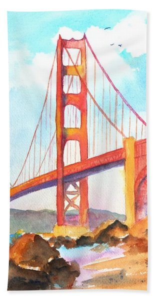 Golden Gate Bridge 3 Beach Towel