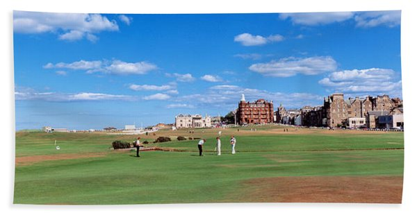 Golf Course, St Andrews, Scotland Beach Towel