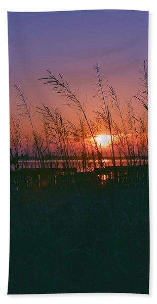 Goodnight Sun Beach Towel
