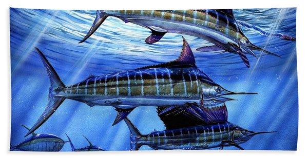 Grand Slam Lure And Tuna Beach Towel