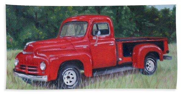 Grandpa's Truck Beach Sheet