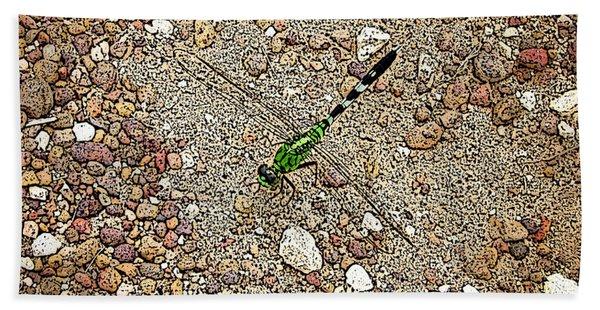 Green Dragon Beach Towel