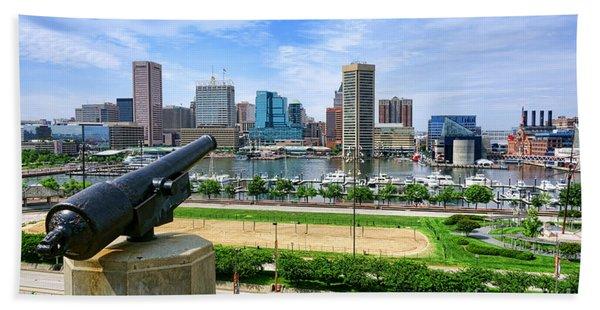 Guarding Baltimore Beach Towel