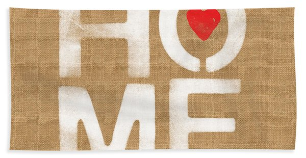 Heart And Home Beach Towel