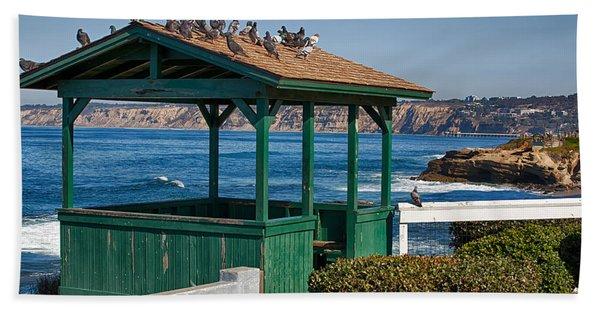 Home By The Sea Beach Towel