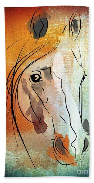 Horse 3 Beach Towel