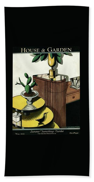 House And Garden Household Equipment Number Cover Beach Towel