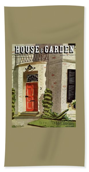 House And Garden Trends In Decorating Cover Beach Towel
