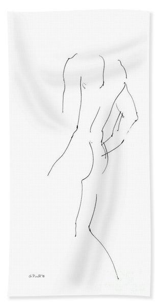 iPhone-Case-Nude-Male2 Beach Towel