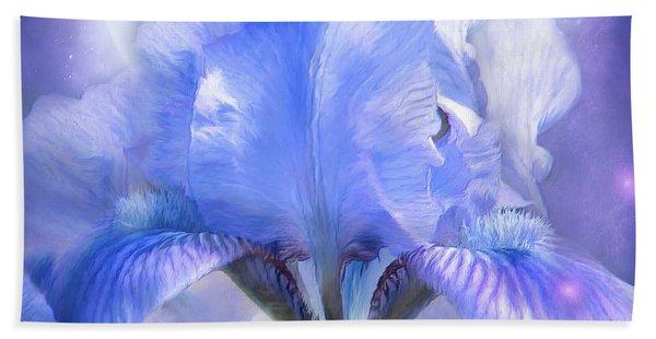 Iris - Goddess In The Moonlite Beach Sheet