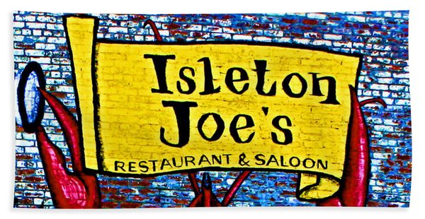 Isleton  Joe's Logo Beach Towel