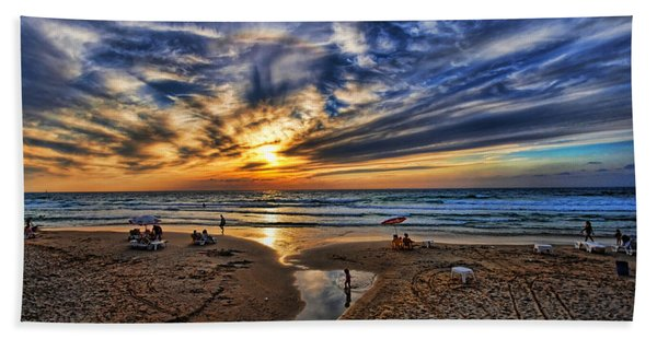 Israel Sweet Child In Time Beach Sheet