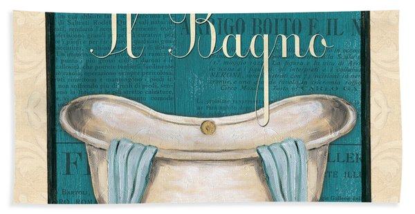 Italianate Bath Beach Towel