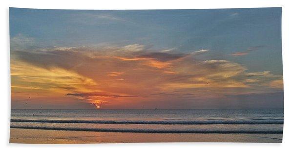 Jordan's First Sunrise Beach Towel