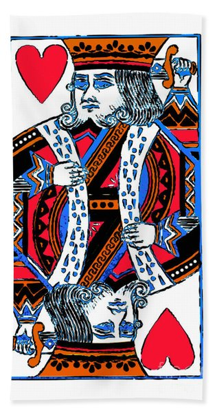 King Of Hearts 20140301 Beach Towel