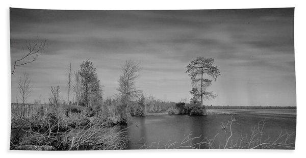Lake Drummond Beach Towel