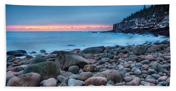 Land Of Sunrise Beach Towel