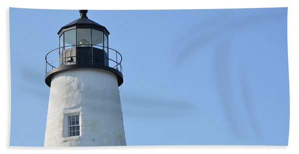 Lighthouse On Clear Day Beach Towel
