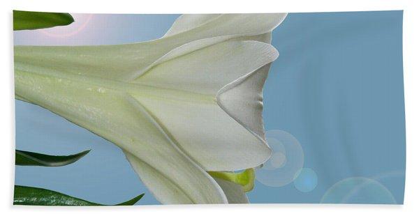 Lily Light Beach Towel