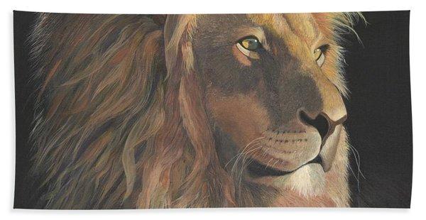 Lion Of Judah Beach Towel