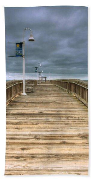 Little Island Pier Beach Towel