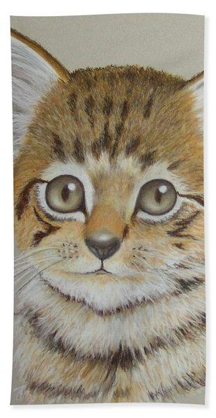 Little Kitty Beach Towel