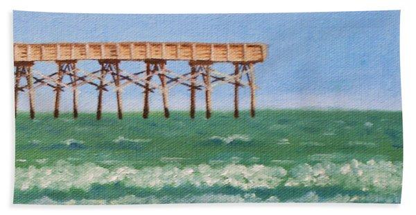 Lone Gull A-piers Beach Sheet