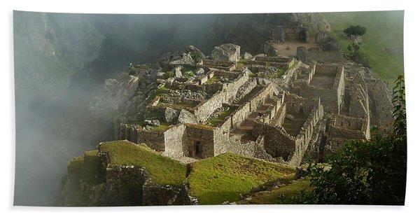 Machu Picchu Peru 2 Beach Towel