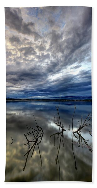 Magical Lake - Vertical Beach Towel