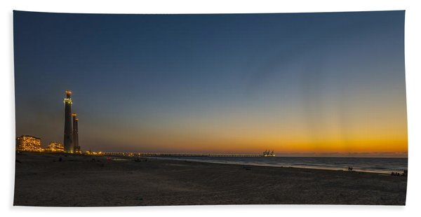 magical sunset moments at Caesarea  Beach Sheet