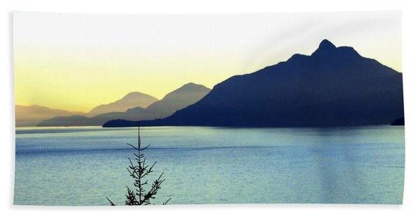 Magnificent Howe Sound Beach Towel