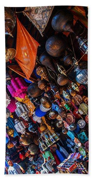 Marrakech Lanterns Beach Sheet