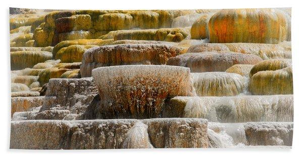 Mammoth Springs Beach Towel