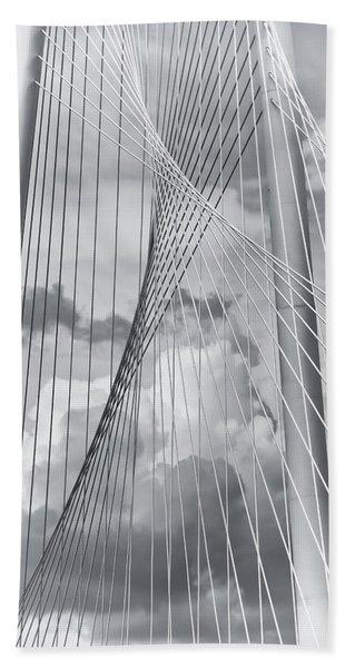 Margaret Hunt Hill Bridge Beach Towel