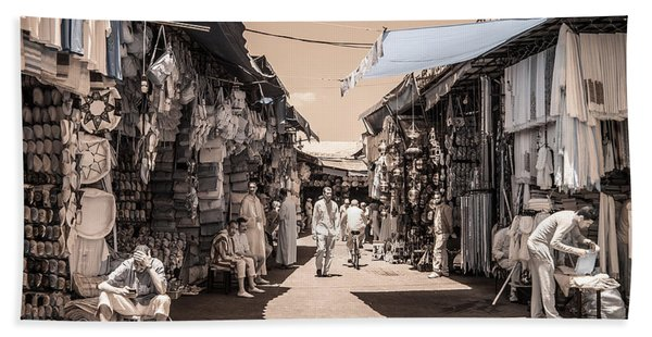 Marrakech Souk Beach Sheet
