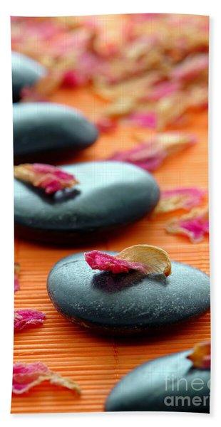 Meditation Zen Path Beach Towel