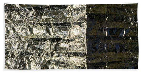 Metallic Reflection Beach Towel