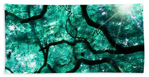 Mighty Branches Beach Towel
