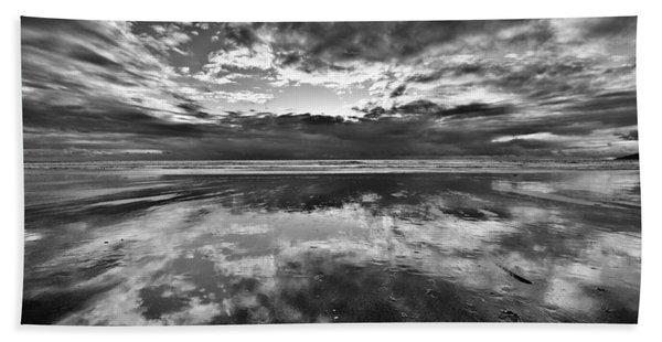 Mirror Explosion Beach Sheet