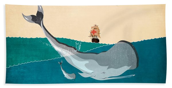 Moby Beach Towel