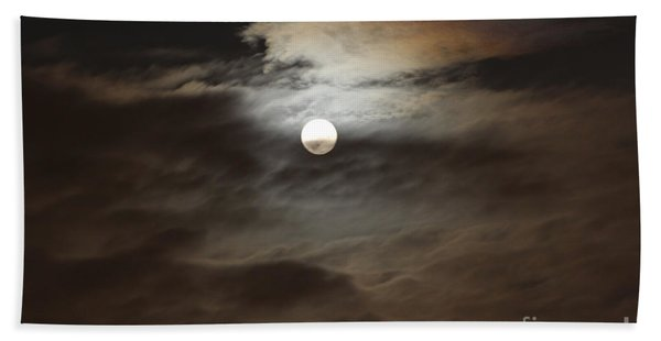 Moon Shine 2 Beach Towel