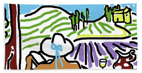 My Tuscany Dream 2 Beach Towel