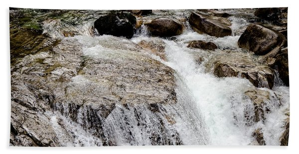 Backroad Waterfall Beach Sheet