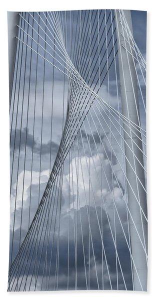 New Skyline Bridge Beach Towel
