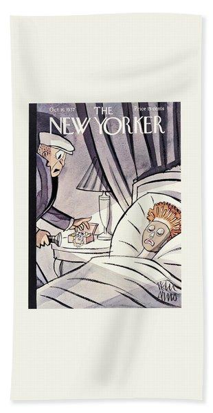 New Yorker October 16th 1937 Beach Towel