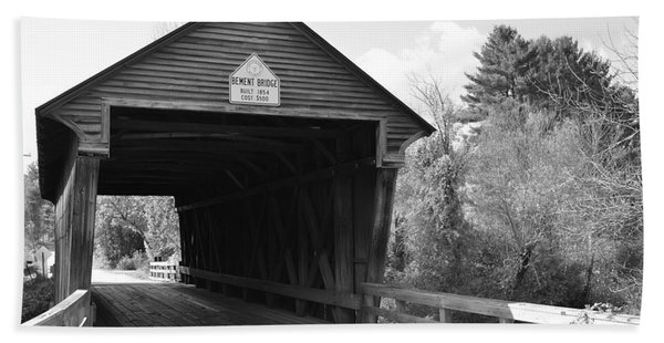 Nh Covered Bridge Beach Towel