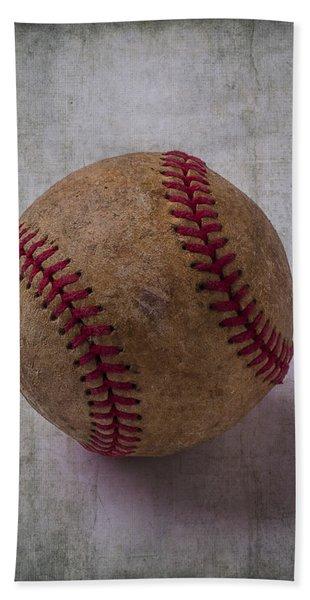 Old Baseball Beach Towel