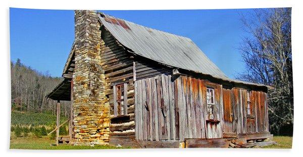 Old Cabin Along Macedonia Church Road Beach Sheet